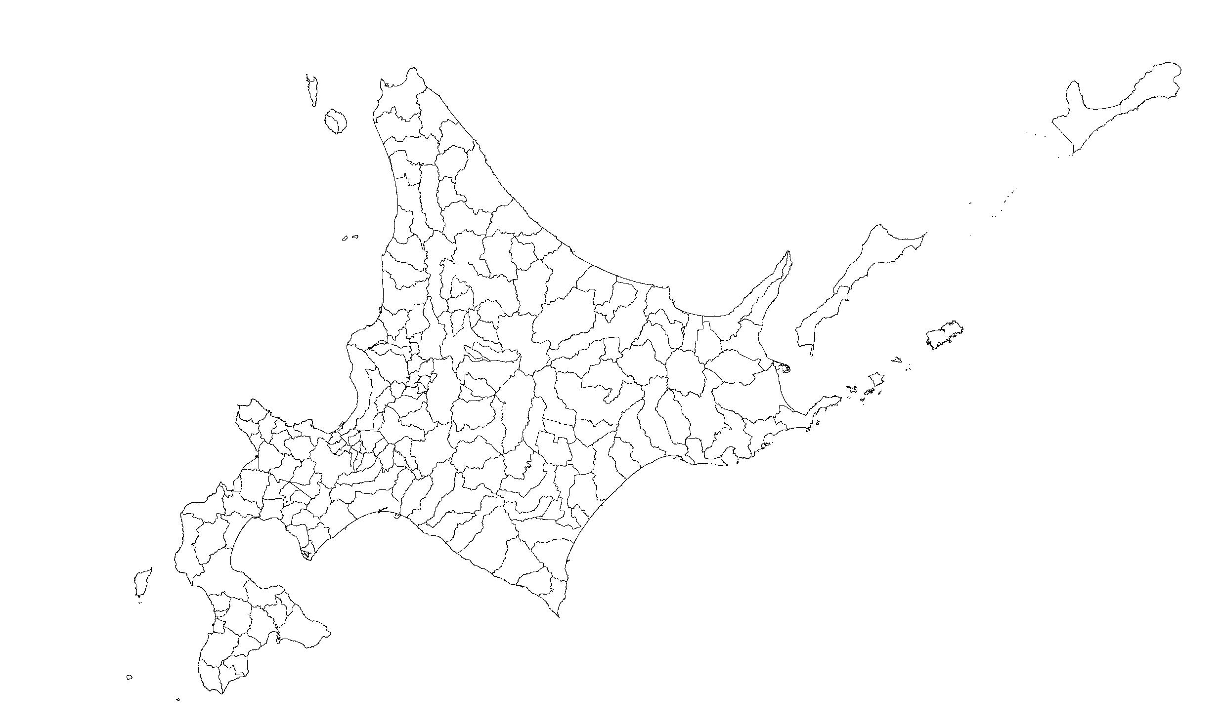 国土数値地理情報から白地図を作る 1 Mkbtm